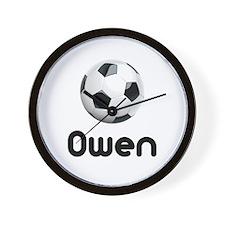 Soccer Owen Wall Clock