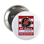 Are You Doing All You Can Vintage Poster Button