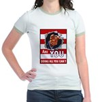 Are You Doing All You Can Vintage Poster Jr. Ringe