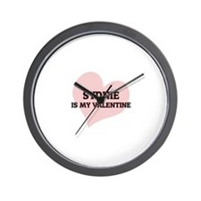 Sydnie Is My Valentine Wall Clock