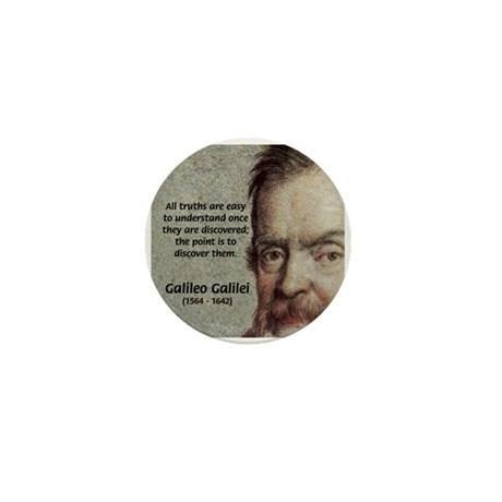 Discovery Truth Galileo Mini Button
