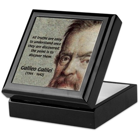 Discovery Truth Galileo Keepsake Box