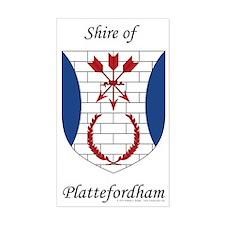 Plattefordham Device Sticker (Rectangle)
