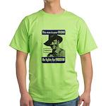 Australian Friend Vintage Poster Green T-Shirt