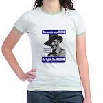 Australian Friend Vintage Poster Jr. Ringer T-Shir