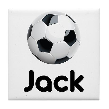 Soccer Jack Tile Coaster