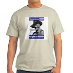 Australian Friend Vintage Poster Ash Grey T-Shirt