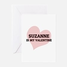 Suzanne Is My Valentine Greeting Cards (Package of