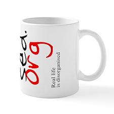 Disorganised Mug