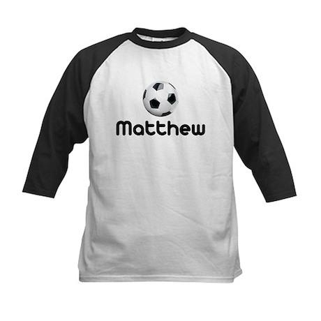 Soccer Matthew Kids Baseball Jersey