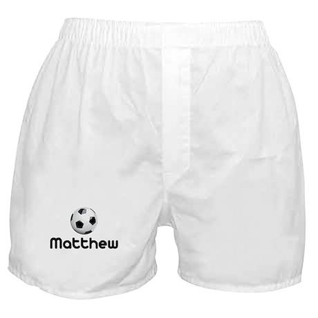Soccer Matthew Boxer Shorts
