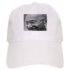Power of Truth Gandhi Baseball Cap