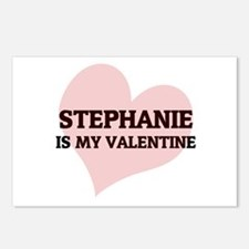 Stephanie Is My Valentine Postcards (Package of 8)