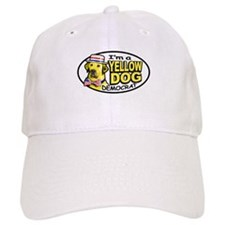 New Yellow Dog Democrat Baseball Cap