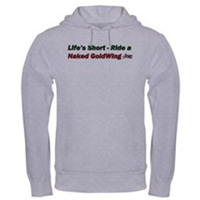 GoldWing Shop #Ride A Naked Hoodie