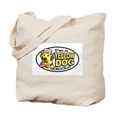New Yellow Dog Democrat Tote Bag