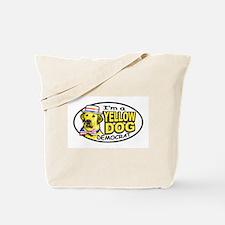 New Yellow Dog Democrat Tote Bag