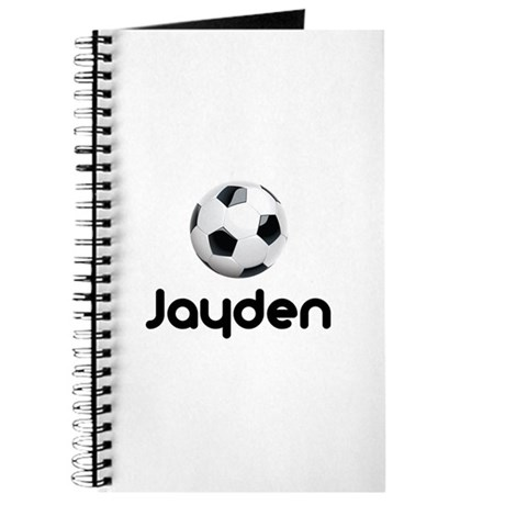 Soccer Jayden Journal