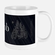 Team Jacob Werewolf Forest Mug