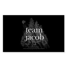 Team Jacob Werewolf Forest Decal