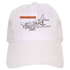 C-47 Routes of Escape Baseball Cap