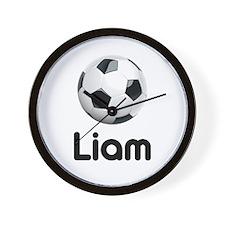 Soccer Liam Wall Clock