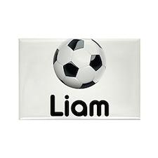 Soccer Liam Rectangle Magnet