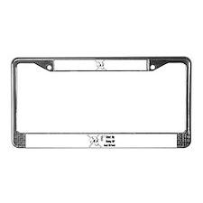 SKULL HEAD License Plate Frame