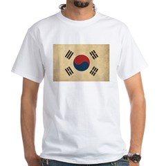 Vintage South Korea Flag Shirt