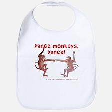 Dance Monkeys, Dance! Bib