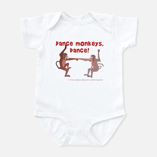 Dance Monkeys, Dance! Infant Bodysuit
