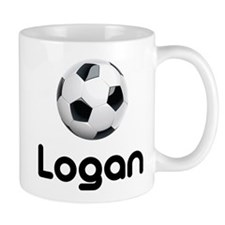Soccer Logan Small Mug