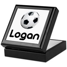 Soccer Logan Keepsake Box