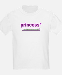 princess lady-like sounds T-Shirt