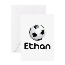 Soccer Ethan Greeting Card