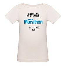 It's a 13.1 mile run Tee