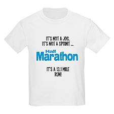 It's a 13.1 mile run T-Shirt