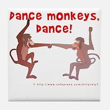 Dance Monkeys, Dance! Tile Coaster