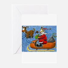 Santa Greeting Cards (Pk of 10)