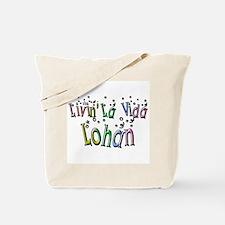 Living La Vida Lohan Celeb Hu Tote Bag