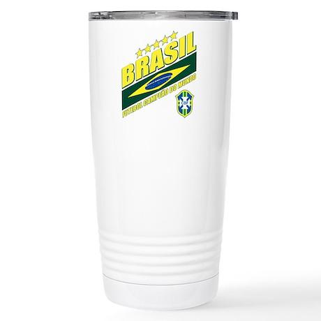 Brasilian World cup soccer Stainless Steel Travel