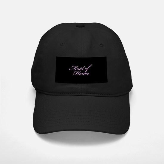 Maid of Honor Formal Font Baseball Hat