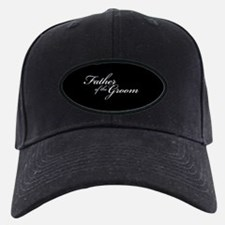 Father of the Groom Formal Font Baseball Hat