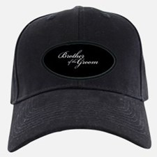 Brother of the Groom Formal Font Baseball Hat