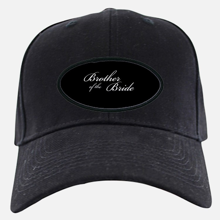 Brother of the Bride Formal Font Baseball Hat