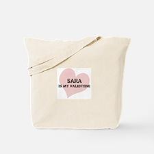 Sara Is My Valentine Tote Bag