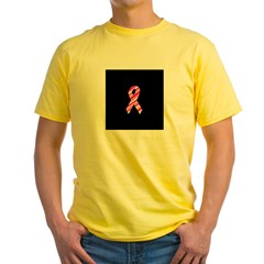 Breast Cancer Ribbon Pinstrip T