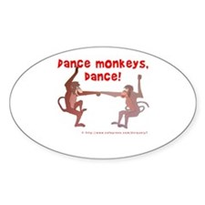 Dance Monkeys, Dance! Decal