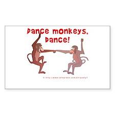 Dance Monkeys, Dance! Decal