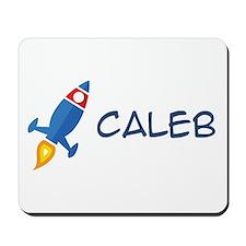 Caleb Rocket Ship Mousepad
